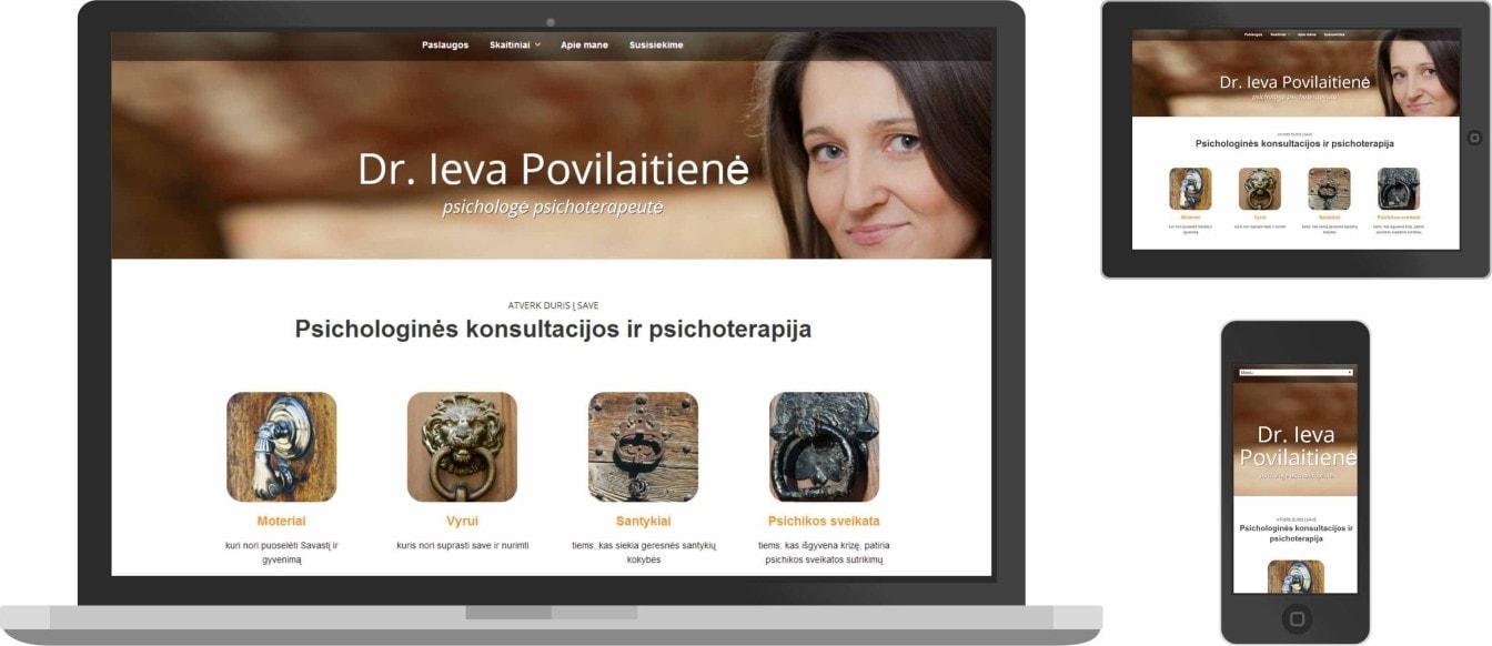 Web dizainas, psichologas