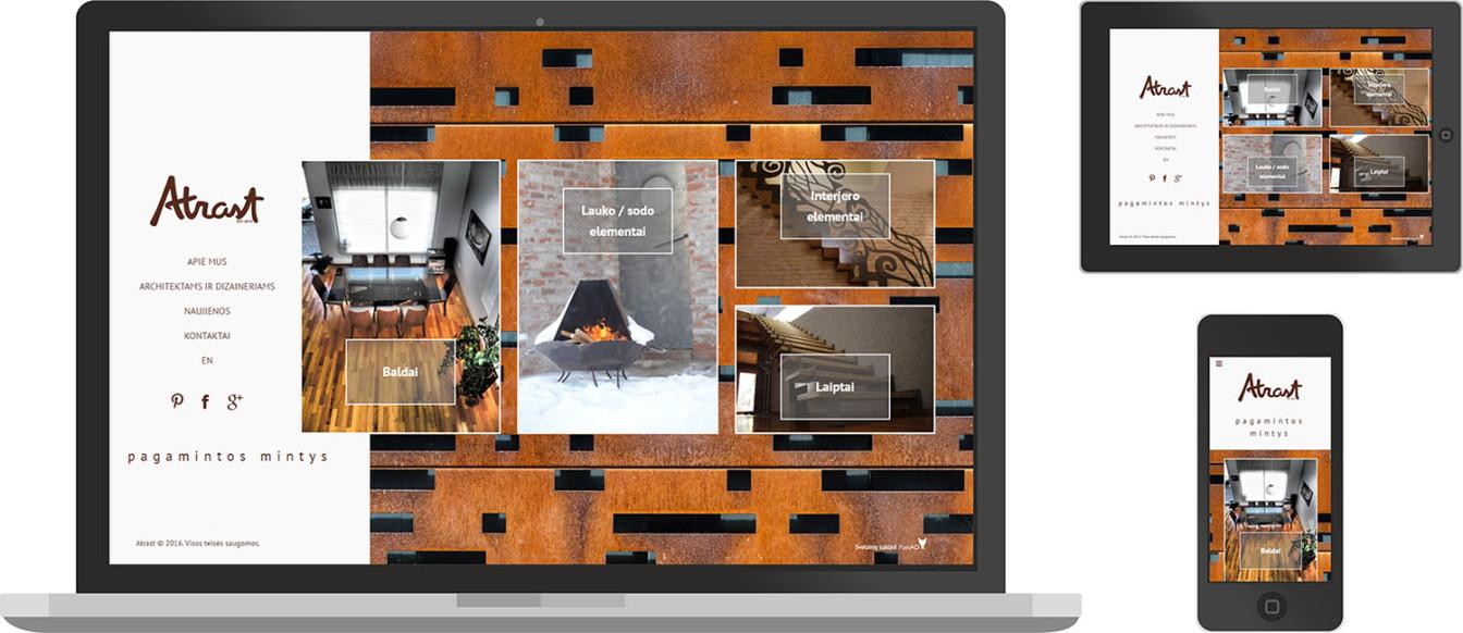 Atrast.lt - svetaines dizainas, kuri sukure foxiAD