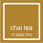 """Pantone spalva """"Chai tea"""""""