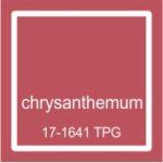 """Pantone spalva """"Chrysantemum"""""""