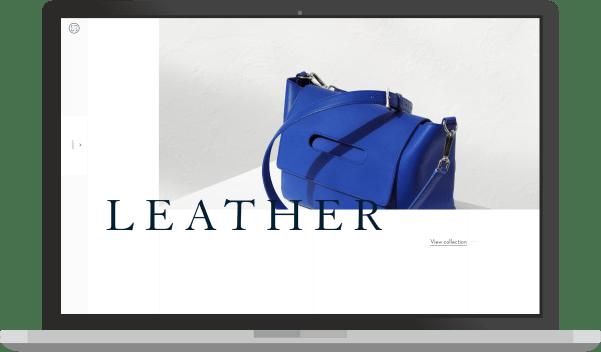 minimali, sviesi svetaine - web dizaino pavyzdys
