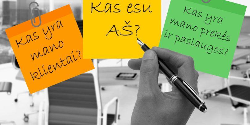 trys klausimai, kuriuos sau turetu uzduoti kiekviena organizacija
