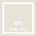 "Pantone spalva ""Tofu"""